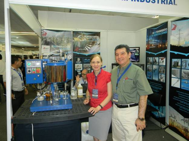 GlobeCore at industrial expo in Acapulco, Mexico