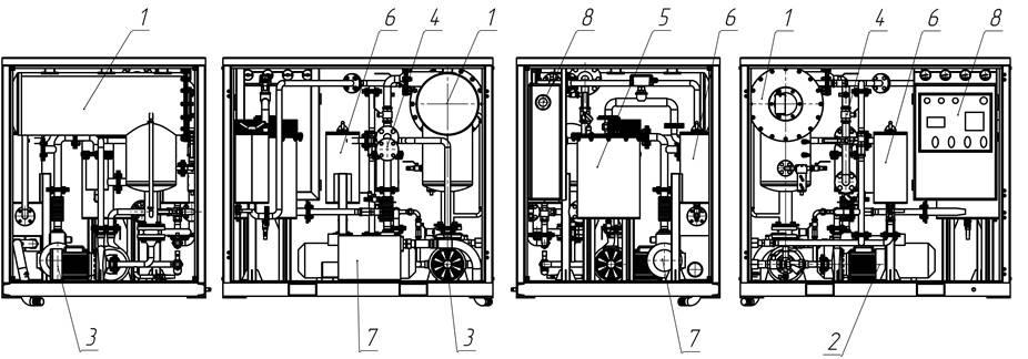 Oil Purification plant components