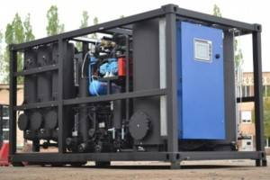 oil reclamation unit CMM 6R with degassing