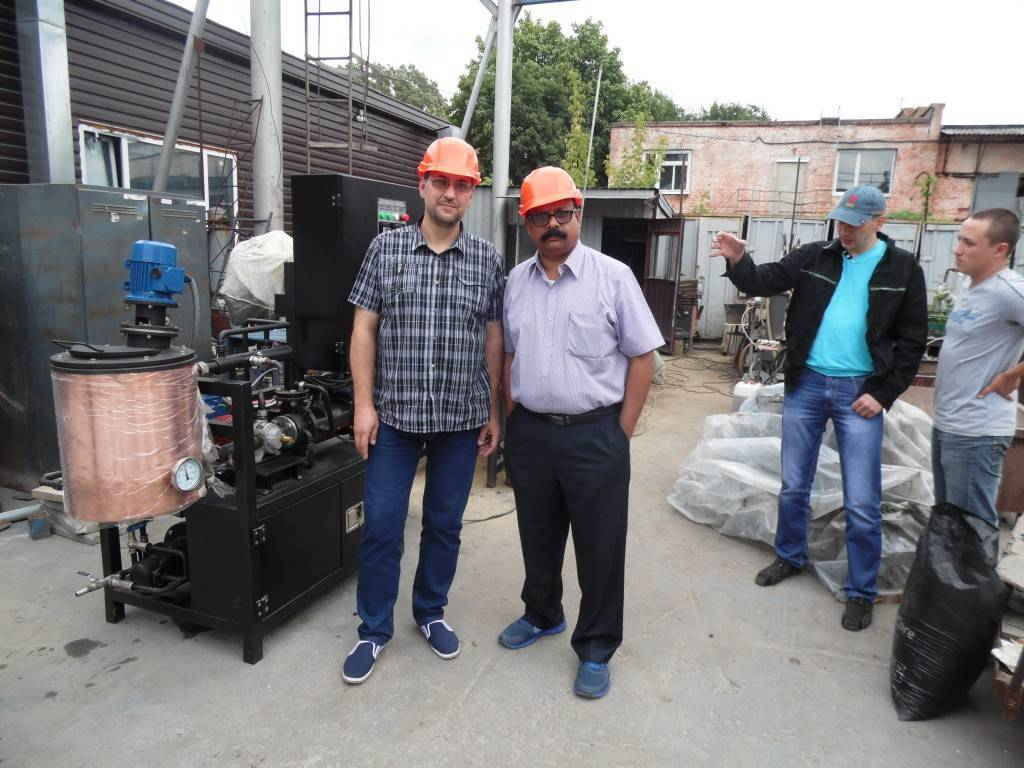 Testing of bitumen emulsion equipment