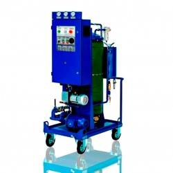 Oil filtration from mechanical impurities and thermo vacuum drying