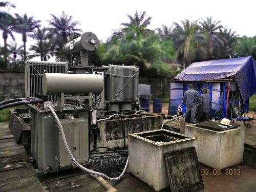 The schedule of transformer oil maintenance