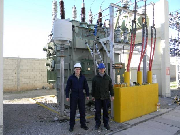 El Paso, Texas: CMM-12R Regeneration Unit Gets Ready to Regenerate Transformer Oil!