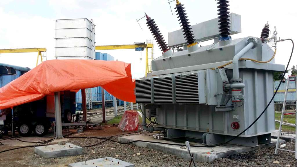 Start up of equipment in Indonesia