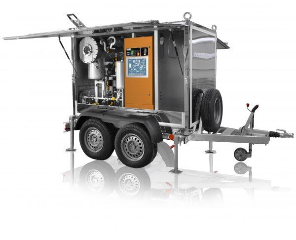 Transformer oil filling